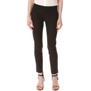 Theory Belisa Wool Stretch Skinny Trouser Pants